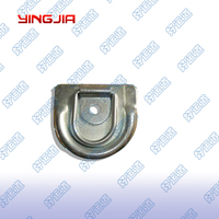 04405 Top quality Stainless Steel Tie down ring for low bed cargo trailer