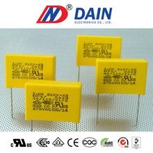 Interference suppression X2 capacitor for air conditioner capacitor