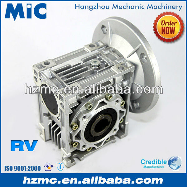 90 Degree Mini RV Reduction Gearbox for Conveyor