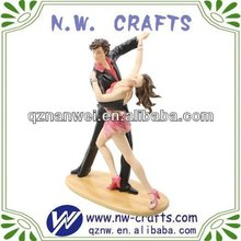 Resin tango dancer figurine