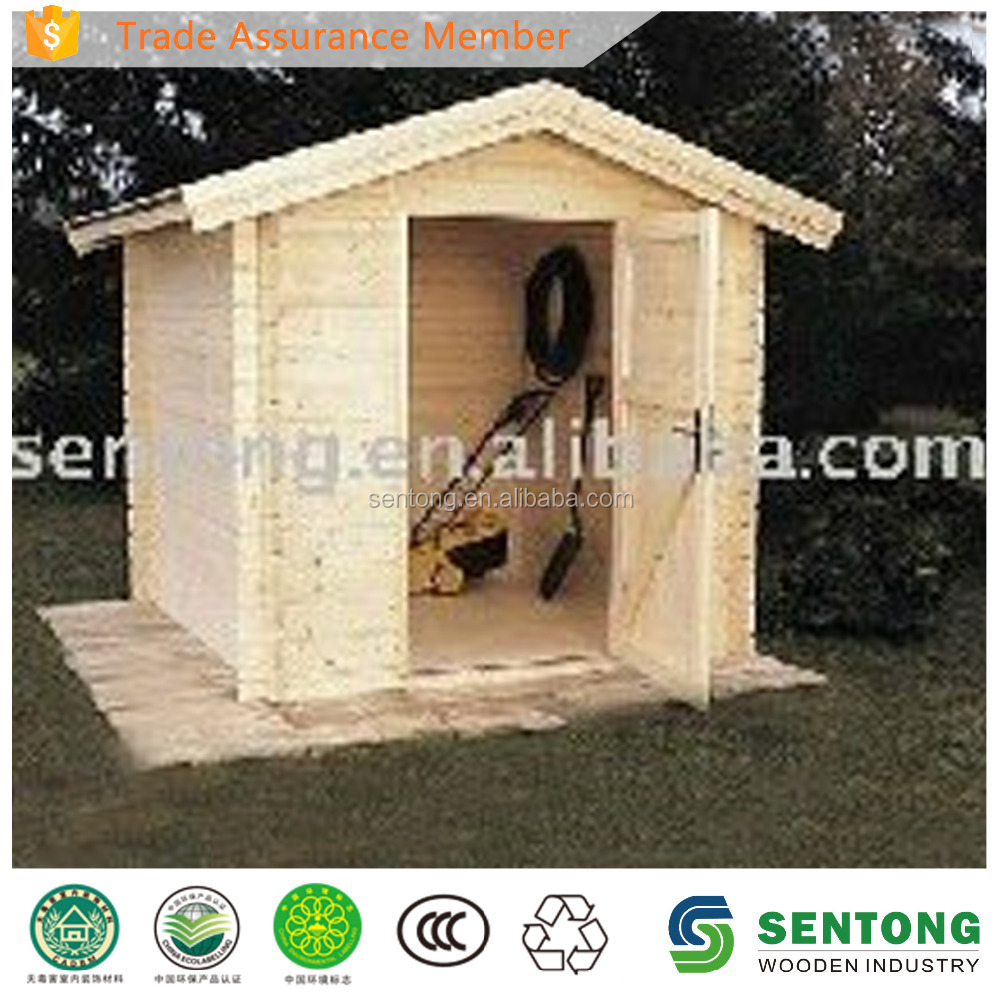 2017 Cheap Prefab Wooden Garden Shed for Sale