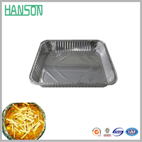 wholesale food packaging containers/Disposable Aluminum foil container for restaurant and household