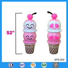 Lovely inflatable ice cream cone, advertising inflatable ice cream, ice cream inflatable promotional items