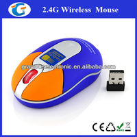 Gift wireless mouse rf2.4g with logo imprint