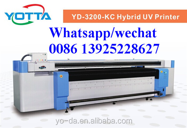 Super high speed 3.2M roll to roll pvc UV printer with factory price