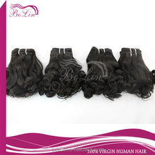 2016 qingdao bolin natural color double strong weft virgin indian human hair 8''-30'' in stock