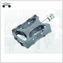 Grey CNC machined bicycle aluminum alloy pedal