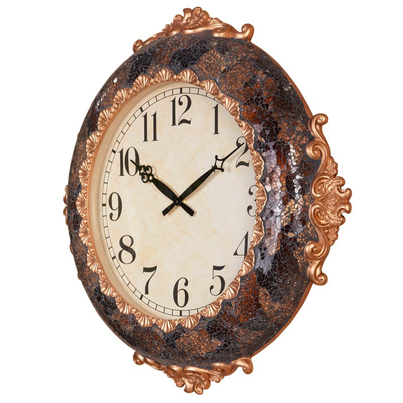 Hot Sale Home Decorative Big Size Mosaic Wall Gift Clocks Antique