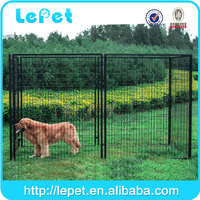 Large outdoor welded wire mesh metal portable dog run kennels
