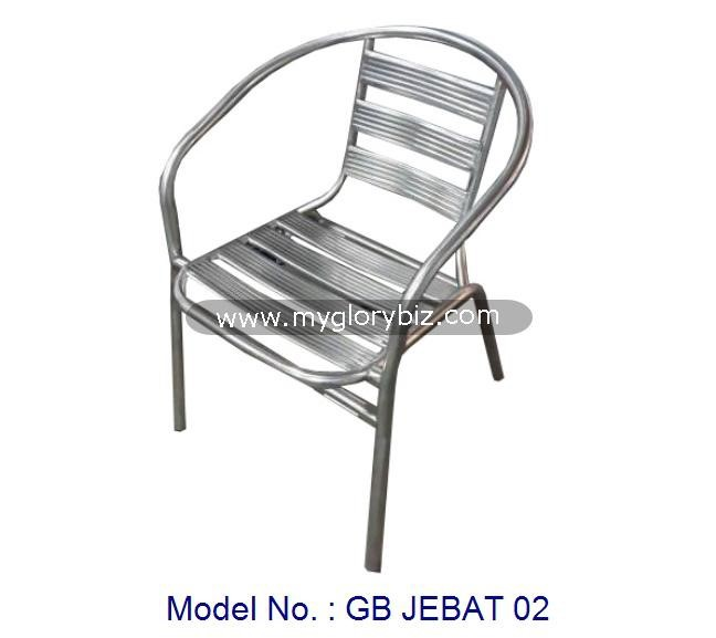 outdoor garden chair, aluminium garden chair