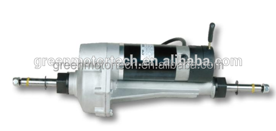 electric mobility scooter motors transaxle rear differential axle electric motor for electric mobility scooterdc motor with gear
