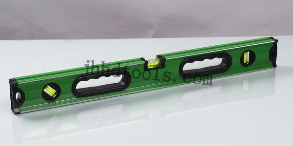 level with handshake/Simple Aluminum Spirit level with accurate precision