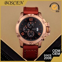 Excellent Quality Custom Design 5 Atm Water Resistant Metal Watches