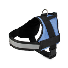 The fine quality adjustable comfortable dog harness with breathable mesh
