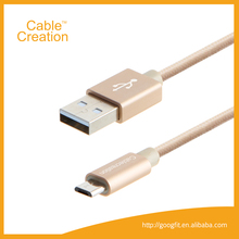 1.2m 20awg-28awg Micro USB Cable High Speed USB 2.0 A Male to Micro B Sync and Charger Cables