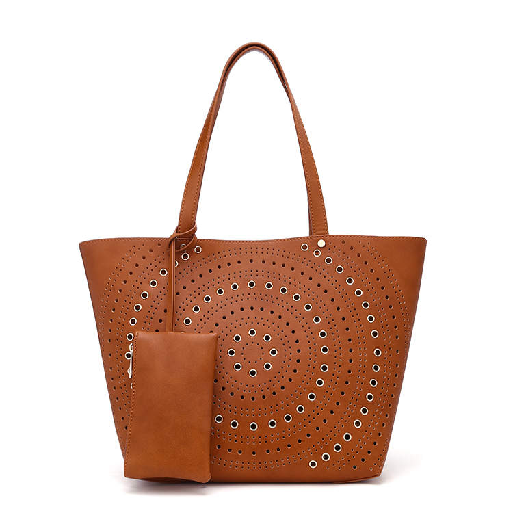 Popular style pu leather oem bags women handbag factory