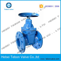 API/DIN Cast Iron Resilient Seated Gate Valve/resilient ductile iron gate valve