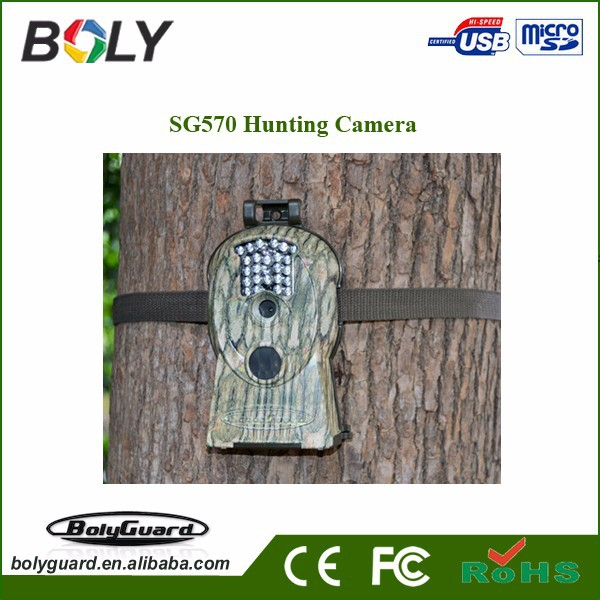 2015 High quality 3G 12 megapixel scouting cameras with night vision for games