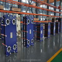 Copper/Nickel Brazed Plate Heat Exchanger for Automobile Industry