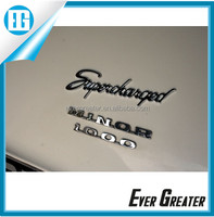 customized automotive emblems 3M car adhesive badge shiny chrome auto sticker suzuki badge logo