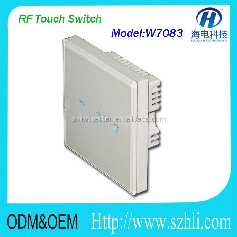 Long distance wireless remote control relay switch