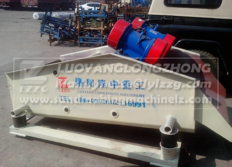 vibrating sludge dewatering screen for coal