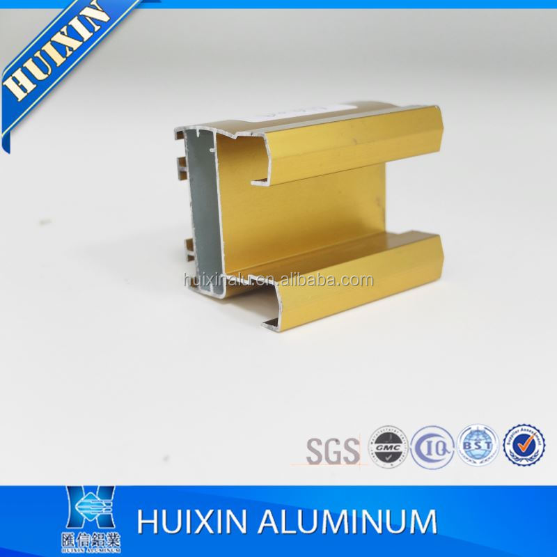 High quality silver/bronze anodized used aluminum casement windows