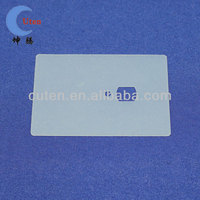 Oblong shape clear silicone gasket