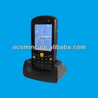 1D Barcode scanner, LF RFID Reader, GPS, Wi-Fi, GPRS wireless Rugged Handheld PDA