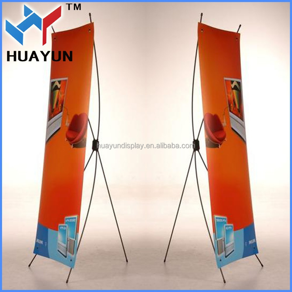 x banner pop up stand roll up stand display
