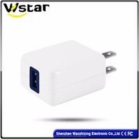 12W china supplier 5V 2.1A mobile phone USB charger for iphone 7