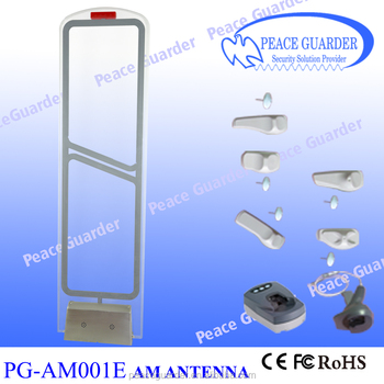 Acrylic EAS AM Antenna anti-theft system for supermarket PG-AM001