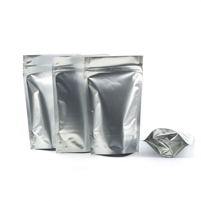 Transparent sealer plastic nylon aluminum foil high-temperature cooking bags with self adhesive strip
