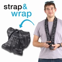 miggo Strap&Wrap for Mirrorless (CSC) Neoprene DSLR Camera Bag SR-CSC PS50
