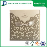 Promotional products chinese lastest wedding invitation card designs