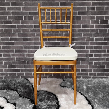 Gold Cheap wedding stacking chiavari chair tiffany chair china chiavari sillas tiffiny