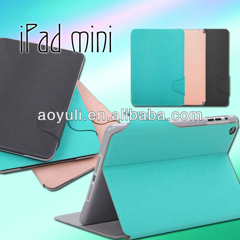 for ipad mini case, case cover for ipad mini with buckle design