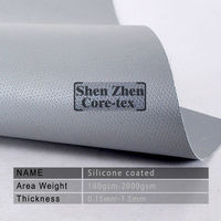 fire resistant silicone rubber coated fiber glass fabric fire blanket