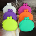 colorful candy color silicone jelly coin purse for promotional gifts