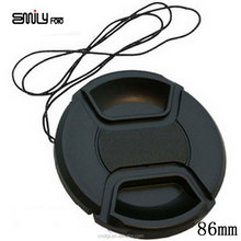 Camera Accessories 86mm Front Lens Cap Hood Cover Snap-on For Canon For Nikon For Pentax For Sony Camera