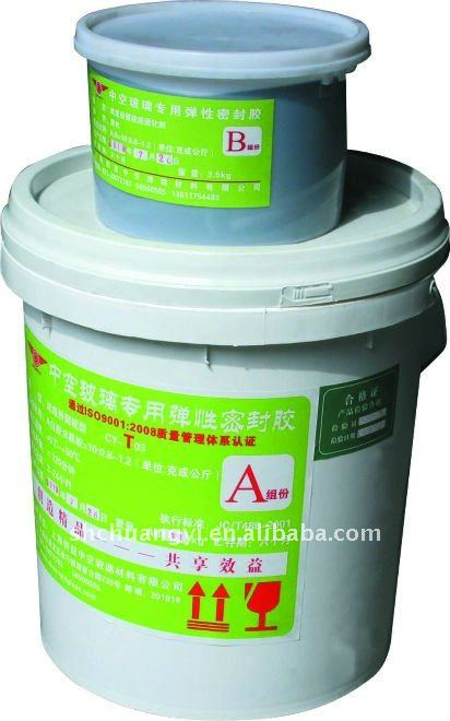 two component thiokol insulating glass glue