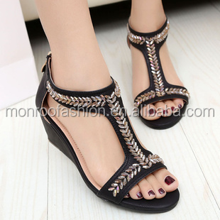 Monroo 2014 new wave of female fashion sandals women sandals