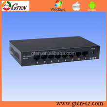 very good 8 ports stable metal case ruggedcom ethernet 8-port gigabit sfp switch