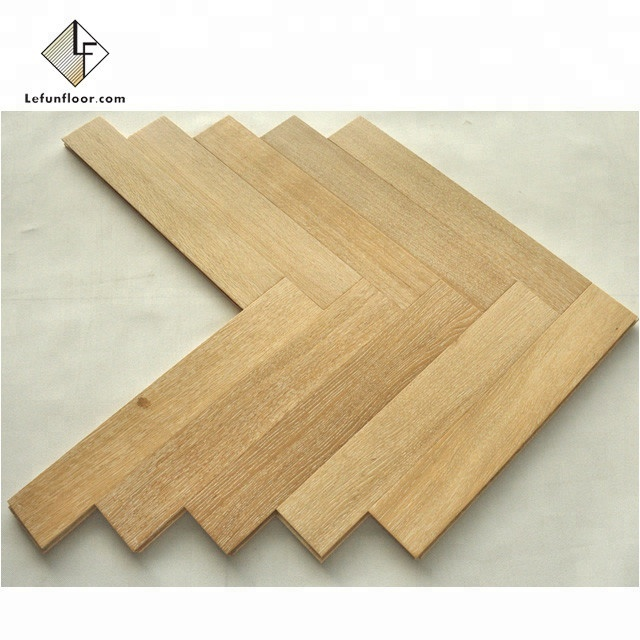 white washed oak wood parquet cheap herringbone <strong>flooring</strong>
