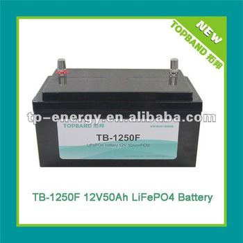 High rechargeable lithiumion battery 12V50Ah for solar,wheelchair