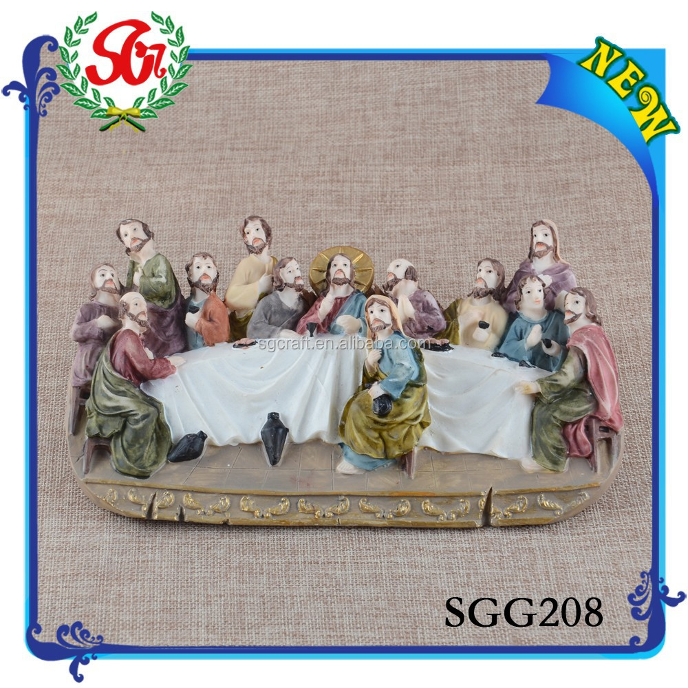 SGG208 2015 China Supplier Hot Products Resin Religious Statues, Religious Craft