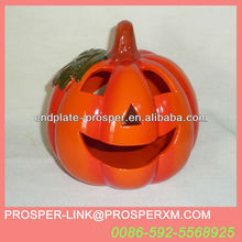Wholesale halloween ceramic pumpkin