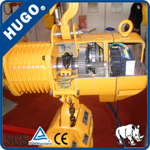 2 ton hoist/ 2 ton pneumatic hoist size 3 times smaller than 2 ton electric chain hoist