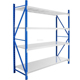 Metal cubby storage shelf steel shelves with 4 layers