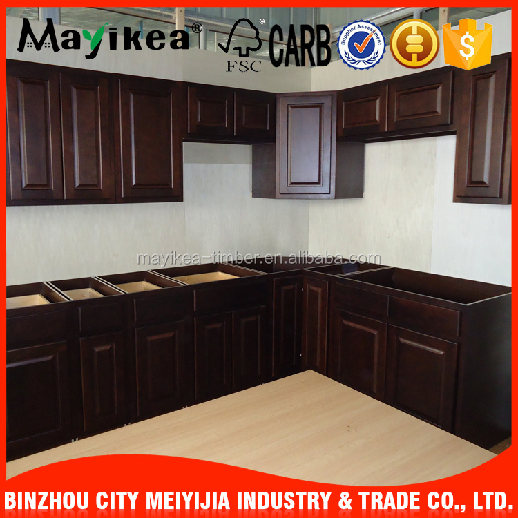 All export products 5mm Back board discount kitchen cabinets